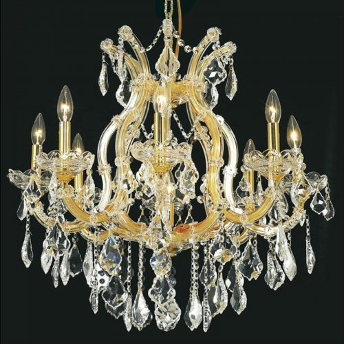 Maria Theresa 9 Light Crystal Chandelier