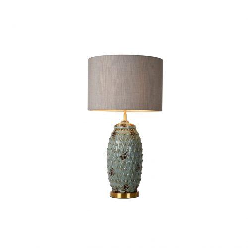 Pinecone Ceramic Table Lamp