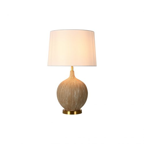 Coconut Shell Ceramic Table Lamp