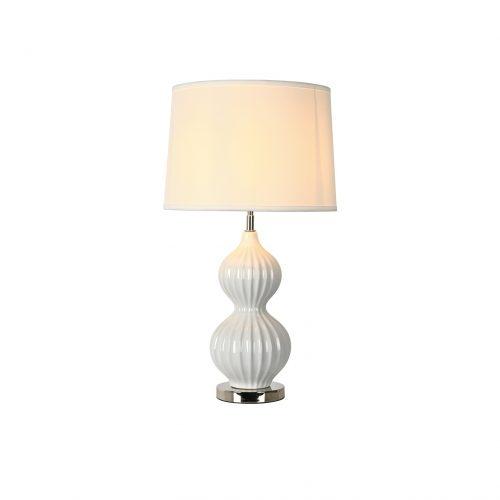 Cucurbit Ceramic Table Lamp with Shade