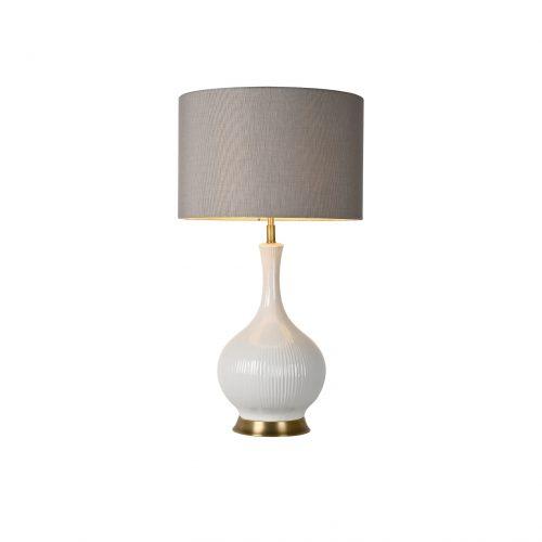Spherical Ceramic Table Lamp