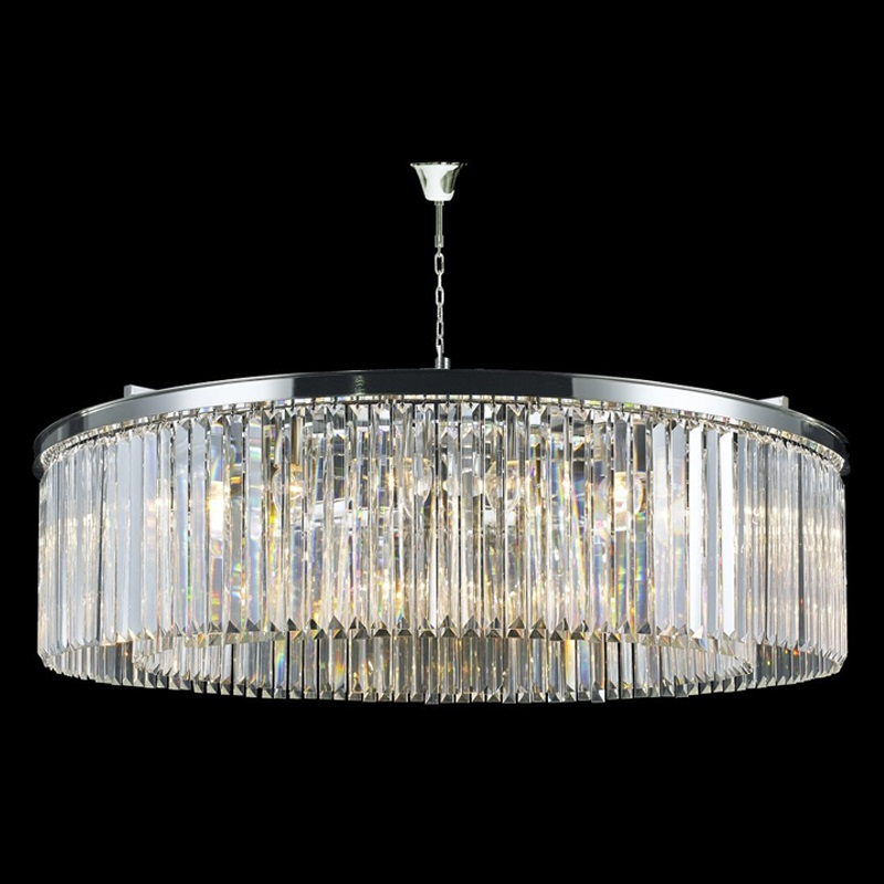 Odeon 110cm Crystal Chandelier