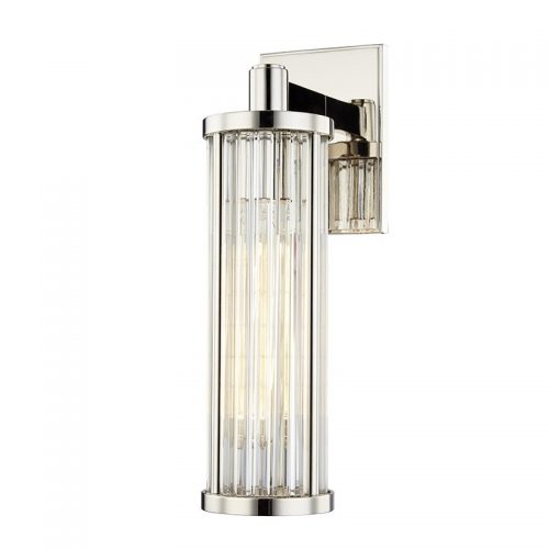 Marley Sconce in Polished Nickel