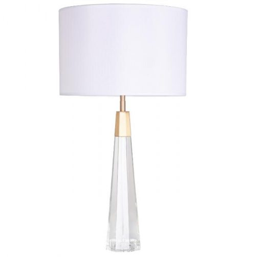 Poppy Crystal Table Lamp with Shade