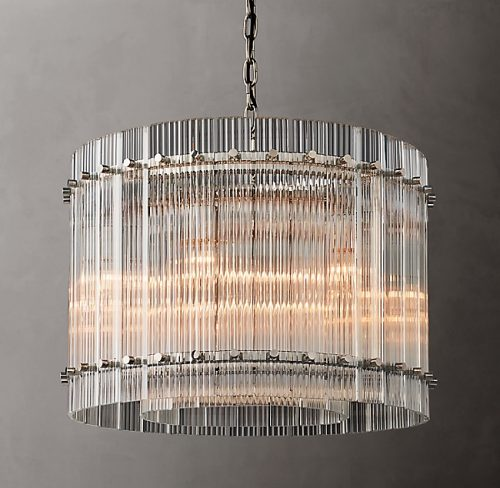 Cyrus 60cm Chandelier in Polished Nickel