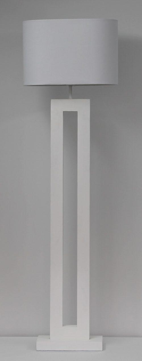 Chun Floor Lamp White with shade