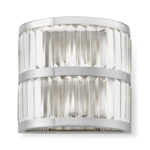Lamont Wall Sconce in Polished Nickel