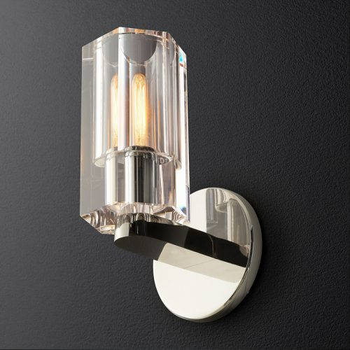 Arcachon Wall Sconce in Polished Nickel