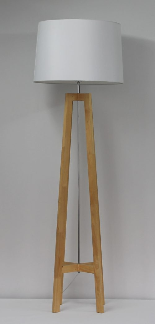 Quatro Medium Floor Lamp Natural