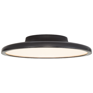 "Dot 13"" Flush Mount in Polished Nickel"