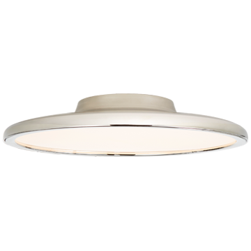 "Dot 16"" Flush Mount in Polished Nickel"