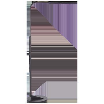 Austin Adjustable Floor Lamp in Aged Iron
