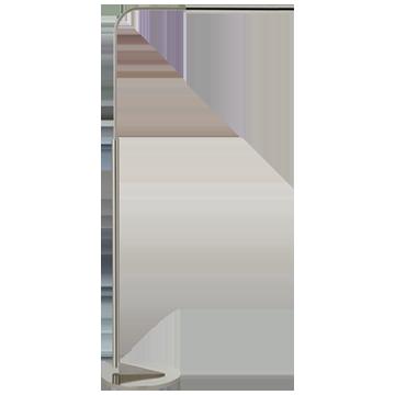 Austin Adjustable Floor Lamp in Polished Nickel