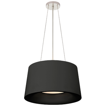 Halo Small Hanging Shade in Matte White