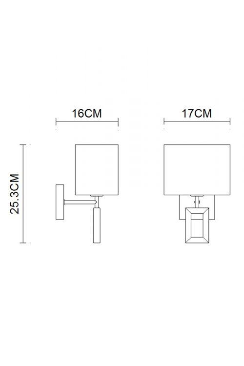 Quadrate Wall Lamp