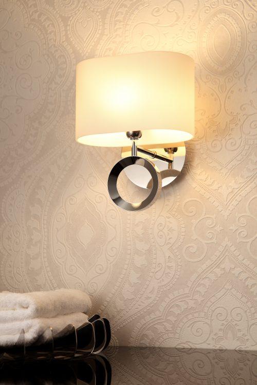 Delta Glass Wall Lamp