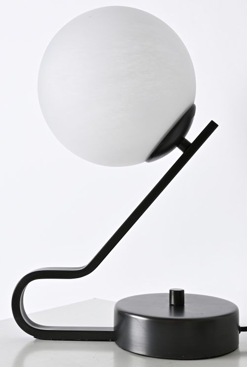 Cloud Textured Globe Table Lamp