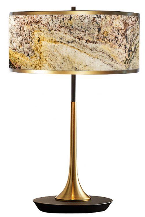 Stonehenge Drum Table Lamp